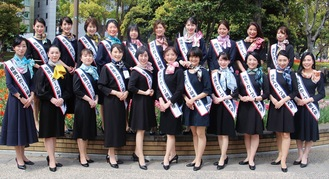 横浜スカーフ親善大使21