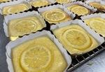 販売したハニーレモンケーキ