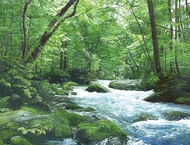 水の画家 居島春生展