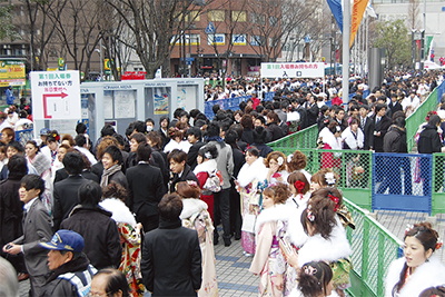 青葉区から3,244人が新成人