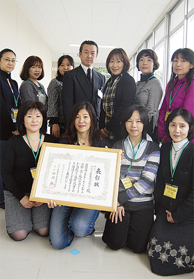 日本PTA会長表彰を受賞