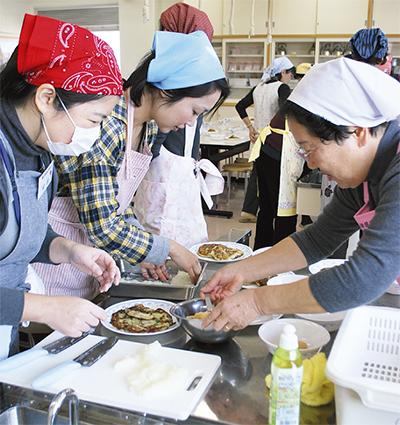ママたちの料理教室
