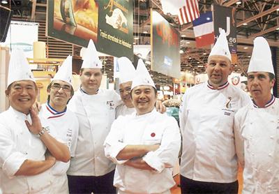 日本代表・パン職人としてフランスへ