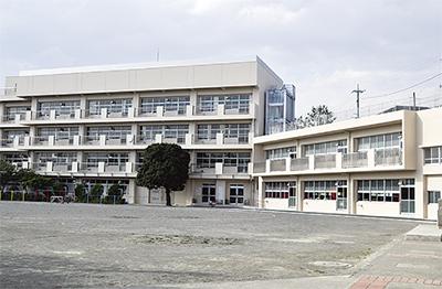 市ヶ尾小新校舎が完成