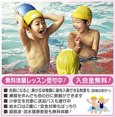 プールって楽しい!