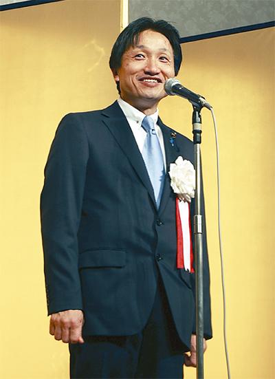 小島県議が賀詞交歓会