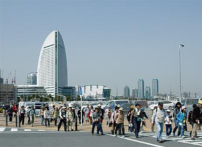 春の横浜街歩き