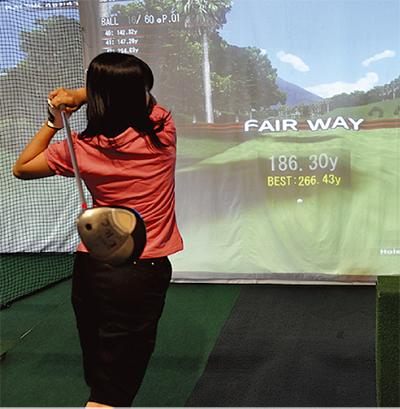 実践!ゴルフ教室