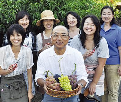 関戸さんのブドウが優秀賞