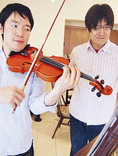 初めまして、バイオリン