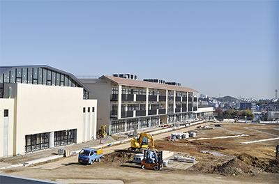校舎が竣工