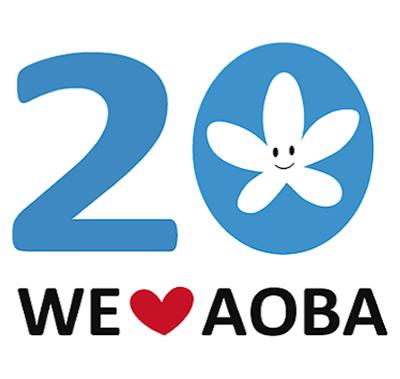 20周年に向け記念ロゴ