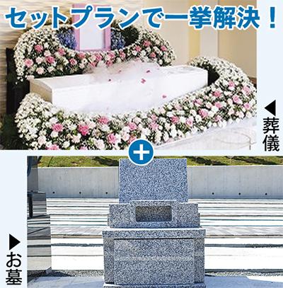 葬儀とお墓の悩みを一挙解決