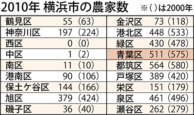 横浜産野菜 ニーズ調査へ