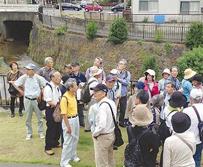 早渕川の歴史めぐる