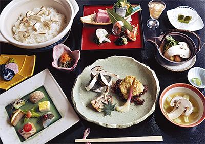 秋の味覚「松茸コース」