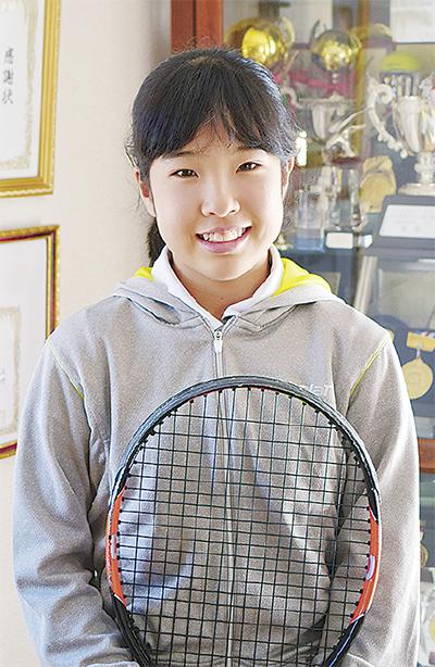 「世界一」掲げテニス留学