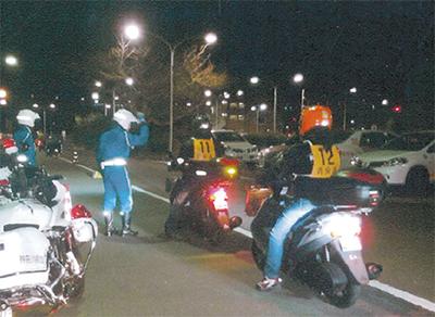 「二輪車事故を減らそう」