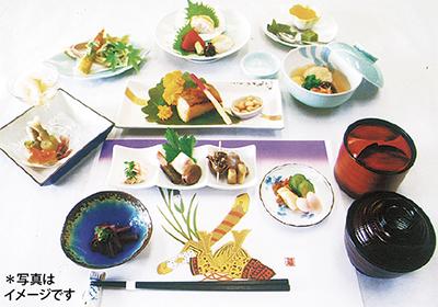 京懐石で祝宴を