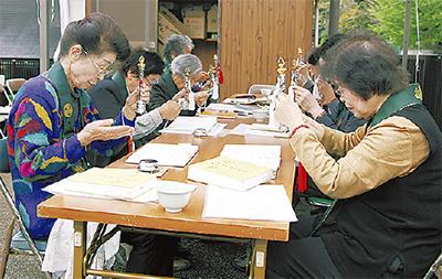 椎ノ木地蔵尊で祭礼