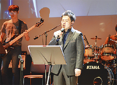 韓国音楽家が震災支援