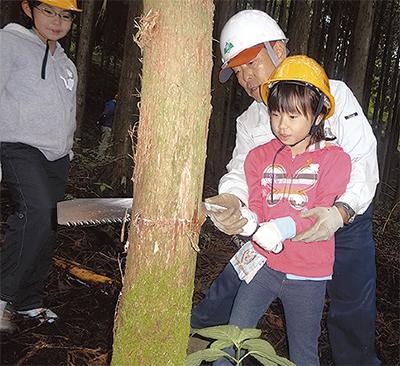 道志村で体験学習