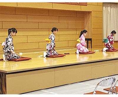 日本の伝統文化学ぶ