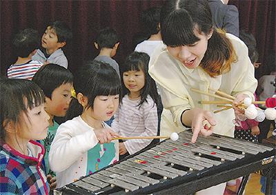 世界の打楽器にふれる