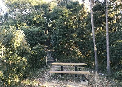 同計画で保全された栄区の「鍛冶ケ谷市民の森」