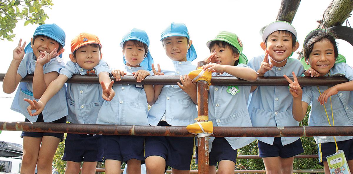 藤が丘幼稚園で「わくわく運動会」