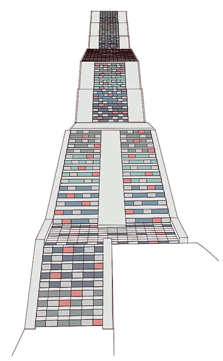 百段階段デザインが決定