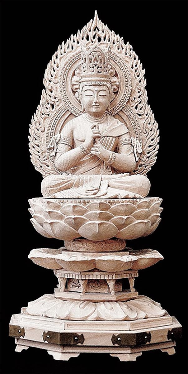 仏像彫刻100体ずらり