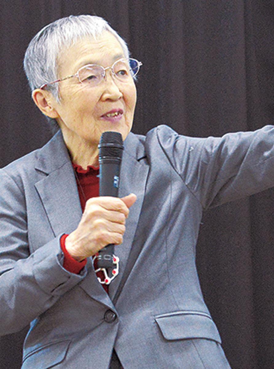 83歳、アプリ開発者が講演