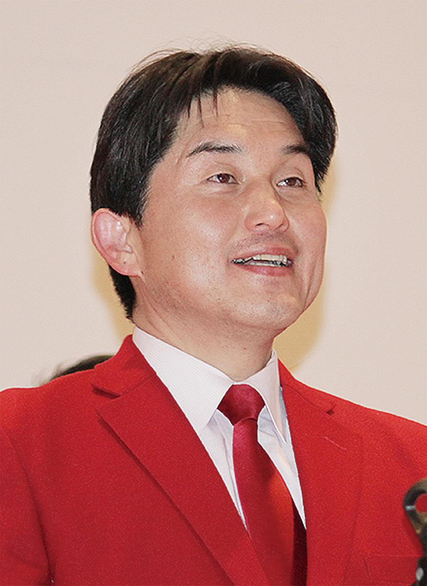 赤野氏が県政報告