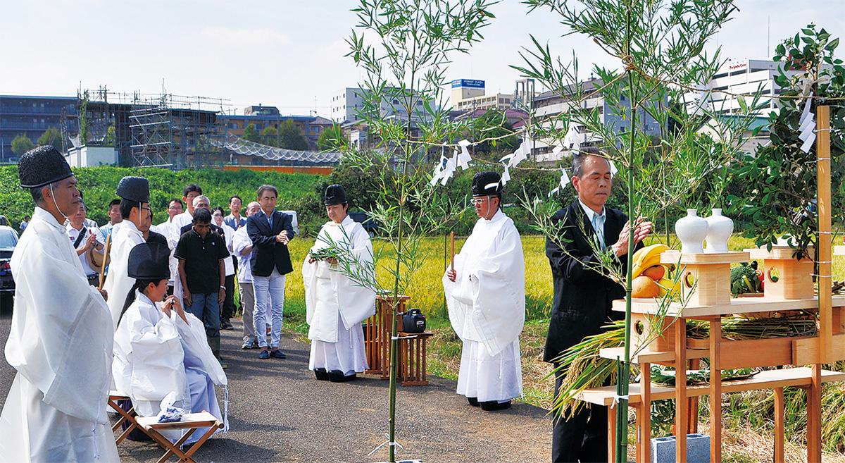 五穀豊穣祝い神事 神社庁横浜三...
