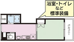居室 間取り(25.00平方メートル/7.56坪)