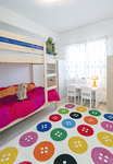 子ども部屋は遊び心を加え、お気に入りの空間となった