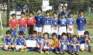 優勝した横浜東SC
