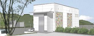 建物の完成イメージ=横浜市提供