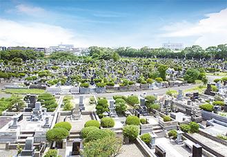 今年募集予定の横浜市営日野公園墓地