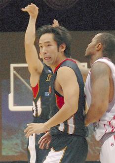 選手時代の青木氏(11年)