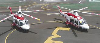 2台体制となった高性能消防ヘリコプター