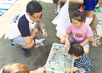 同会主催のイベントを楽しむ子どもたち