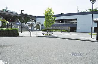 整備対象のひとつとなった駅北口ロータリー