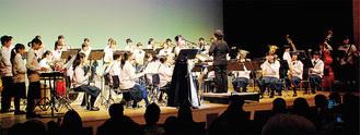 昨年の「福澤優加&田奈中吹奏楽部」の演奏