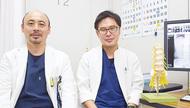 脊椎専門外科医2人体制で
