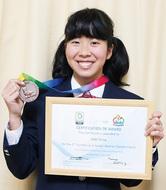 アジア大会で銅メダル