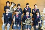 金管打楽器八重奏メンバー(十日市場中)