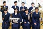金管打楽器八重奏メンバー(田奈中)