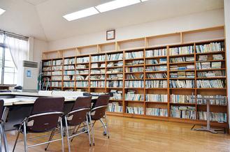 現在の図書室